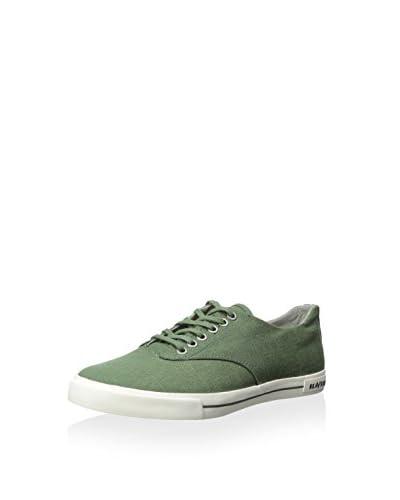SeaVees Men's Hermosa Plimsoll Standard Casual Sneaker