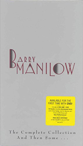 BARRY MANILOW - The Complete Collection And Then Some... (4 Cd