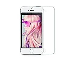 Munoth Ultra Thin Premium Tempered Glass Screen Protector for iphone 5 [backside]