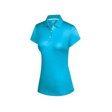 Adidas 2013 Women's ClimaCool Diagonal Textured Short Sleeve Polo