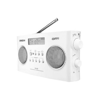 Sangean Pr-D5P Portable Radio With Digital Tuning And Rds front-398470