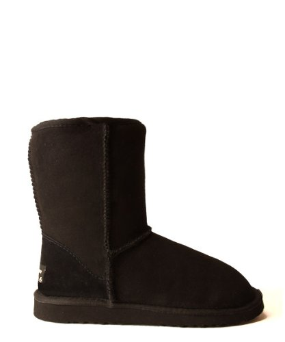 Ugg Boots by Whooga - Classic Short (Black, UK