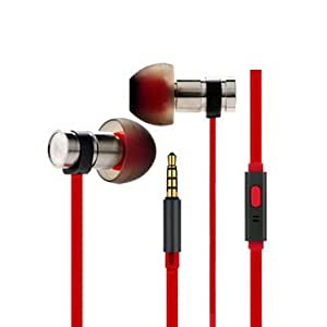 COTEetCI EH03 3.5mm Metal Dynamic Wired In-ear Stereo Headphone with Mic