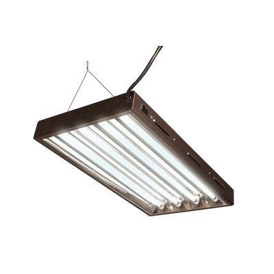 """T5 Tube Designer Grow Light System (4 Bulbs) Size: 48"""""""