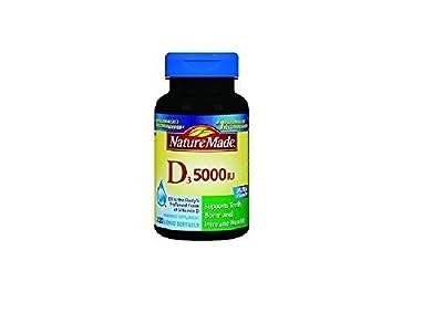 Nature Made Vitamin D-3 5000IU 440 Count Softgels (qz8k79)