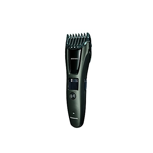 panasonic hair and beard trimmer men 39 s with 39 adjustable trim settings and two comb. Black Bedroom Furniture Sets. Home Design Ideas