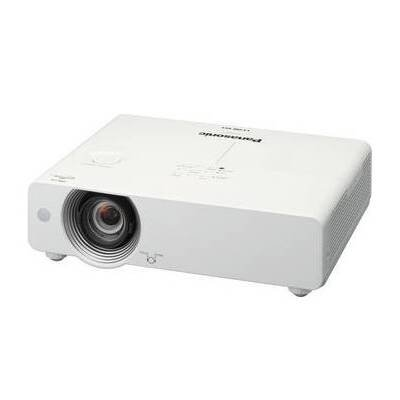 Panasonic Pt-Vx500U Lcd Projector 720P Hdtv 1024X768 Xga 4000:1 5000 Lumens 4:3 Hdmi Vga Fast Ethernet Speaker