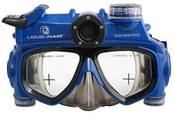 Liquid Image 5.0MP Scuba Series Underwater HD Video Mask (X-Large)