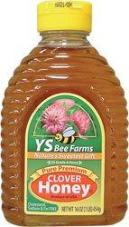 YS Royal Jelly/Honey Bee - Clover Honey, 16 oz liquid