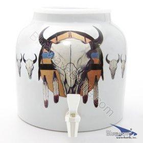 Bluewave Medicine Shield Design Water Dispenser Crock (Ceramic Water Crock Top compare prices)