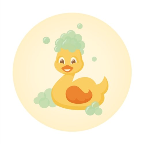 Rubber Ducky Fabric front-694610