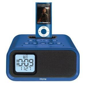 kids 39 radios best pirces ihome ih22lv alarm clock speaker system with ipod dock. Black Bedroom Furniture Sets. Home Design Ideas