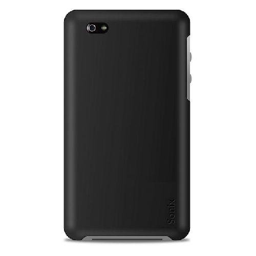Sonix Snap Slim Case for Verizon or AT&T iPhone 4 with 2 Screen Protectors (Black)