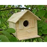 Wood Bird House Kit Complete with Nails NEW AND IMPROVED 2014!