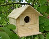 Wood Bird House Kit Complete with Nails NEW AND IMPROVED 2016!