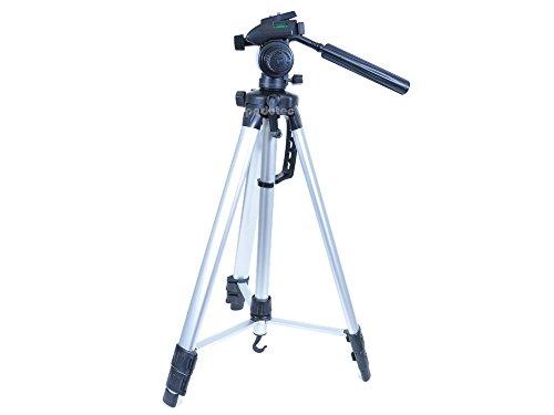 Aluminium Foto / Video Kamera Stativ 170cm für alle Canon auch passend EOS 1D Mark IV + 5D + 7D + 20D + 40D + 50D + 60D + 350D + 450D + 500D + 550D + 600D + 650D + 1000D + 1100 + 3000D + 3100D + 5000D