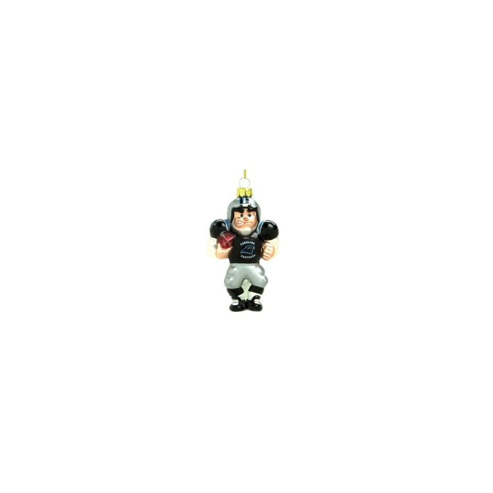Panthers NFL Glass Player Ornament (4 Caucasian)