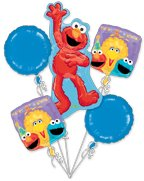 Anagram Sesame Street 1st Birthday Balloon Bouquet - 1
