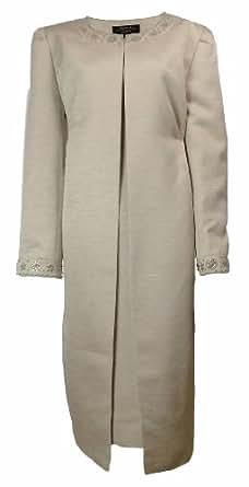 Tahari Arthur S Levine Luxe Jerry Dress Set Champagne Gold (22W) [Apparel]