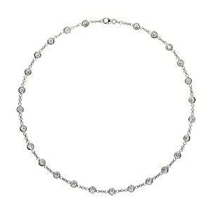 Genuine Volder Tirol Necklace. 18KT White DBY - 15 grams. Authenticity and 100% Satisfaction Guaranteed.
