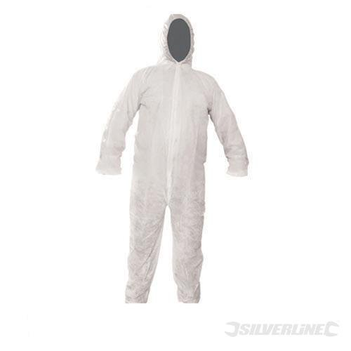 Silverline - Disposable Overall (Xxl 146Cm (58