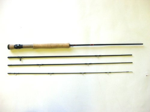 8ft Graphite Fly Fishing Rod (4 section)