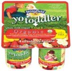 Stonyfield Farm, Yotoddler Yogurt,organic,strawberry Banana, 4/4 Oz (Pack of 6)