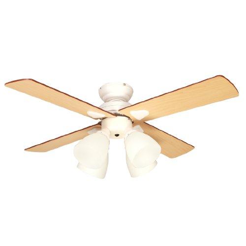シーリングファン Windouble (4-lights) ホワイト BIG-101