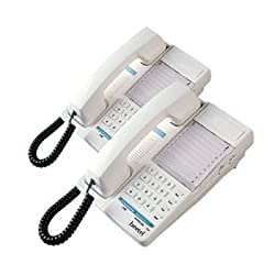 Beetel B77 Corded Feature Phone (Pearl White)