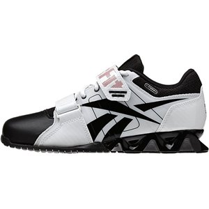 Reebok - Mens R Crossfit Oly Plus White Black Red Lowtop - Import It All acb1978e9