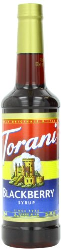 Torani Syrup, Blackberry, 25.4 Ounce (Pack Of 4)