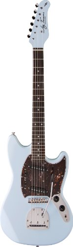 Jay Turser Jt-Mg2-Sbl Solid Body Electric Guitar, Sonic Blue