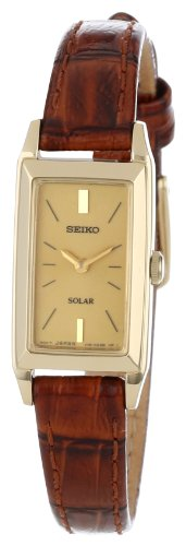 Seiko Womens SUP046 Dress Solar Watch