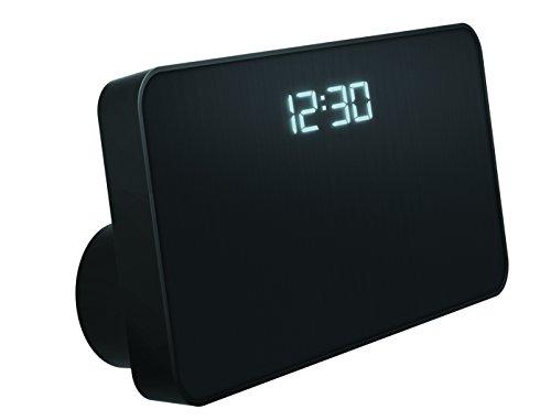Sharper Image SBT3001BK Bluetooth Speaker,USB Charging for Phones and Alarm Clock (Black)