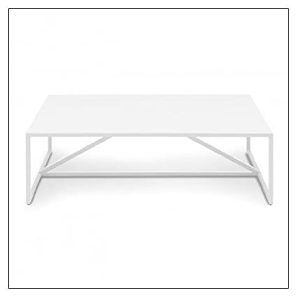 Blu Dot Strut Square Coffee Table by Blu Dot, Color = White