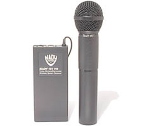Professional Wireless Hand-Held Microphone System For Camcorders