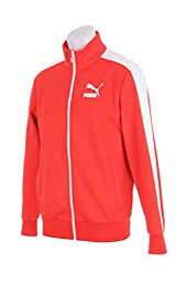 PUMA Men\'s Archive T7 Track Jacket, High Risk Red (3XL, HIGH RISK RED)