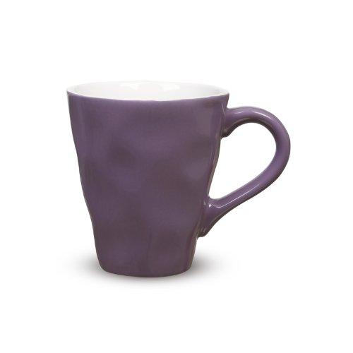 Maxwell & Williams Krinkle Mug, 12.5-Ounce, Purple