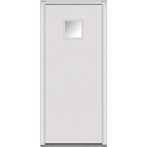 National Door Company Z000524L Flush Smooth Fiberglass Prehung Left Hand Insw