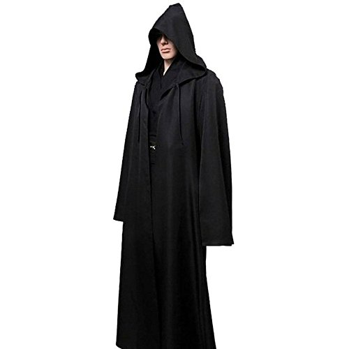 EXIU Hooded Robe Cloak Cool Star Wars Adult Jedi Cosplay Costume (Cool Cosplay compare prices)