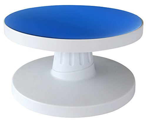 Cake Revolving Stand Tilting For Easy Decorating Make Cake Icing Easy With Bonus Rolling Pin (Tilting Turntable compare prices)