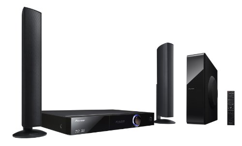 Pioneer BCS-FS525 2.1 Blu-ray Heimkinosystem (3D, HDMI, WiFi, DLNA, Karaoke-Funktion, iPod-Dock, USB 2.0) schwarz