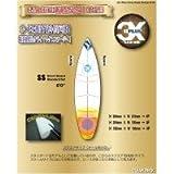 threeten(スリーテン) 3X+PLUS クリアデッキ SS ショート用テールデッキ含まず(四角形など12枚入り)