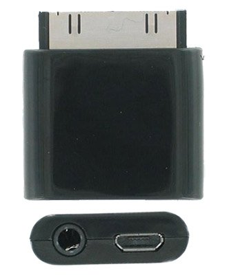 Micro Usb Line Out Adapter Connector For Apple Iphone 3G 3Gs Iphone 4 Ipad 2 Ipod