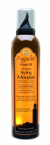 Agadir Argan Oil Volumizing Styling Mousse, 8.5