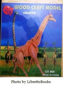Wood Craft Model Giraffe by CHJ