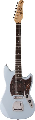 Jay Turser Jt-Mg-Sbl Solid-Body Electric Guitar, Sonic Blue