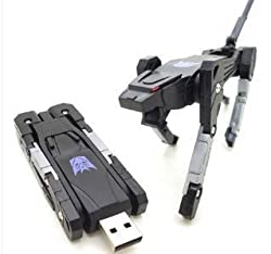 Wewdigi Really 16GB Transformer USB Flash Memory Drive +gift box