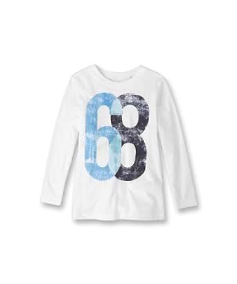 ESPRIT Sweatshirt   Col ras du cou Manches longues Garçon - Blanc - Weiß (100 WHITE) - FR : 8 ans (Taille fabricant : 128/134)