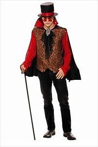 mens victorian vampire medium costume m 42-44